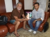 Edinelson Trindade gerente do navio amazon star conhecendo a revista acontece em Manaus.
