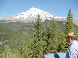 A montanha mais alta do Estado de Washington