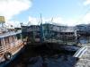 o primeiro contato com o porto de Manaus.